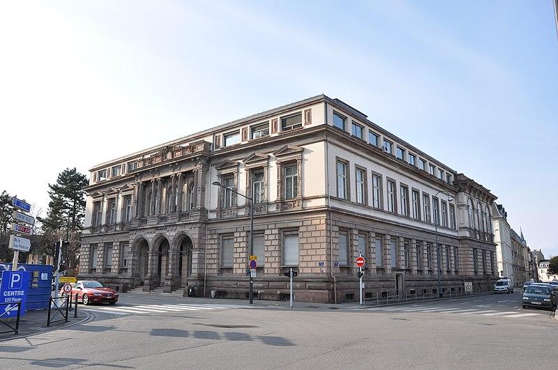 Photo du Monument Historique Tribunal de Grande Instance situé à Mulhouse