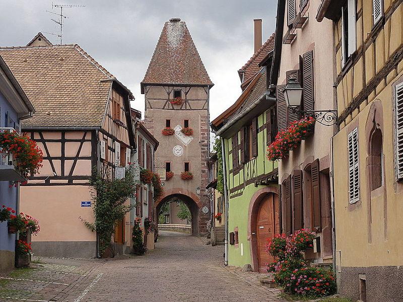 Photo du Monument Historique Ancienne enceinte fortifiée urbaine situé à Ammerschwihr