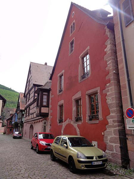 Photo du Monument Historique Ancien grenier de la dîme situé à Kaysersberg