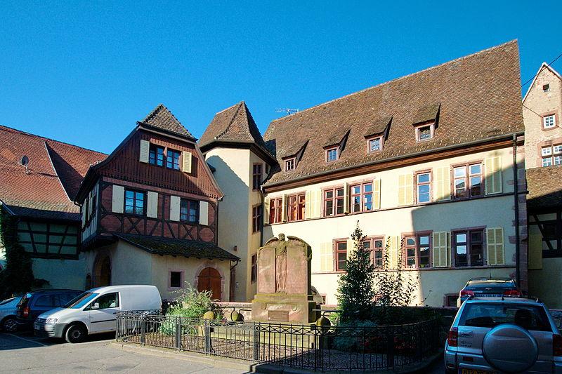 Photo du Monument Historique Ancienne maison du maire Eberlin situé à Riquewihr