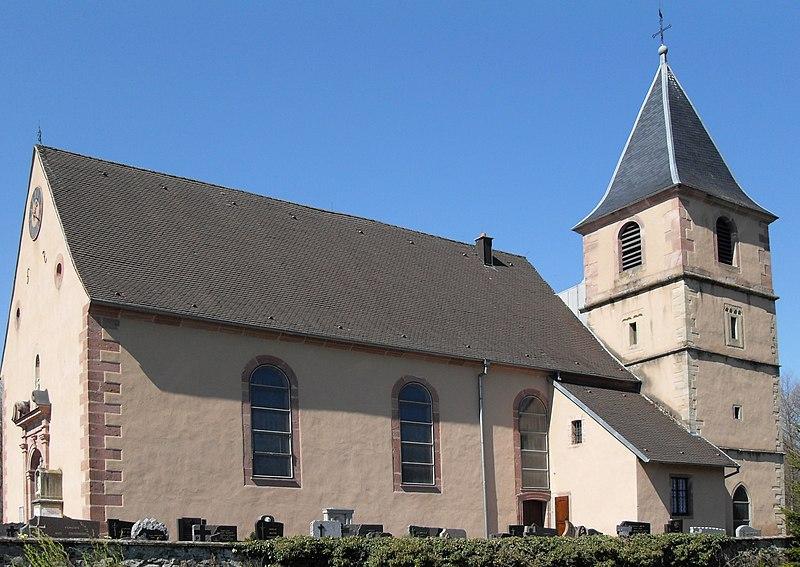 Photo du Monument Historique Eglise catholique Sainte-Marguerite situé à Soppe-le-Haut