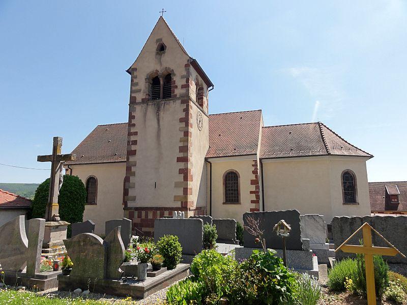 Photo du Monument Historique Eglise catholique Sainte-Odile situé à Soultzmatt
