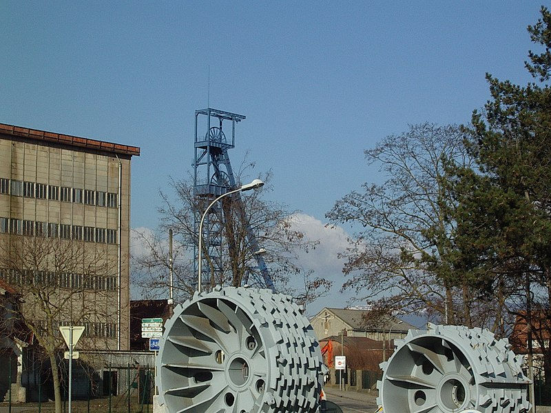 Photo du Monument Historique Mine Théodore situé à Wittenheim