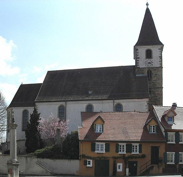 Photo du Monument Historique Eglise catholique Saints-Pierre-et-Paul situé à Eschentzwiller