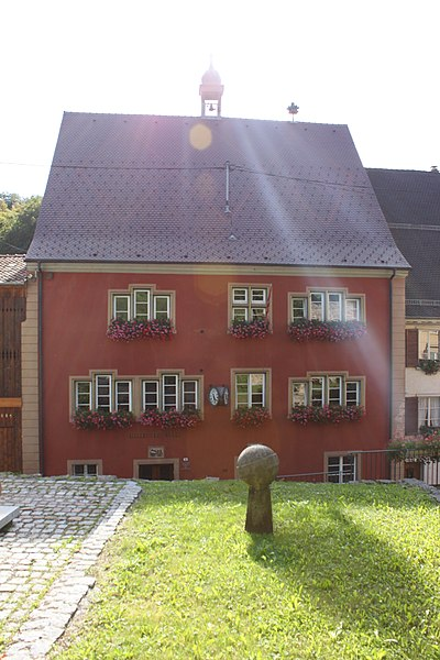 Photo du Monument Historique Hôtel de ville situé à Ferrette