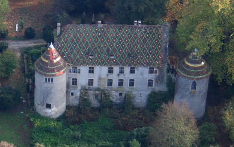 Photo du Monument Historique Château de Heidwiller situé à Heidwiller
