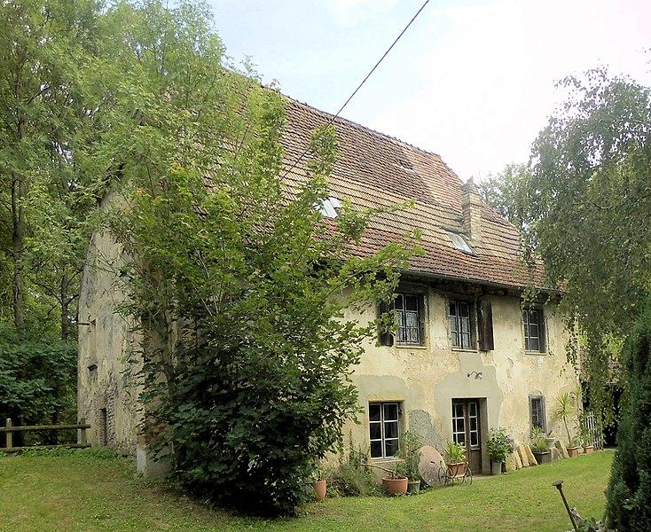 Photo du Monument Historique Moulin Bas situé à Walheim