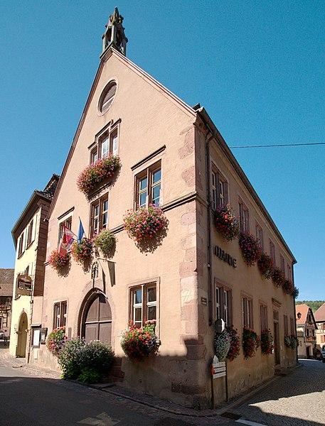 Photo du Monument Historique Hôtel de ville situé à Hunawihr