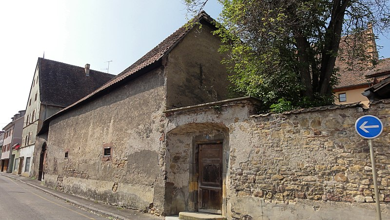 Photo du Monument Historique Ancien presbytère situé à Rouffach