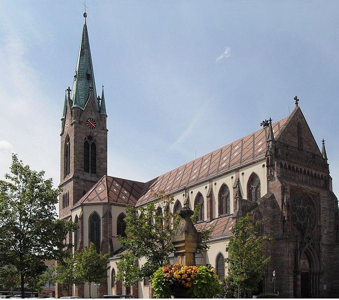 Photo du Monument Historique Eglise catholique Saint-Etienne situé à Cernay