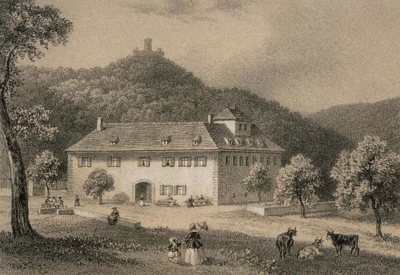 Photo du Monument Historique Ferme Saint-Gilles situé à Wintzenheim