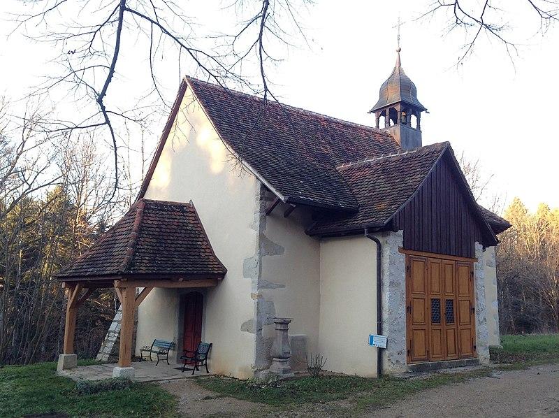 Photo du Monument Historique Chapelle Saint-Brice situé à Oltingue