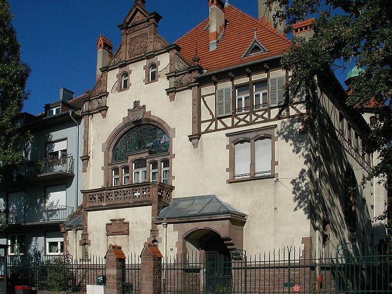 Photo du Monument Historique Loge maçonnique de Colmar situé à Colmar