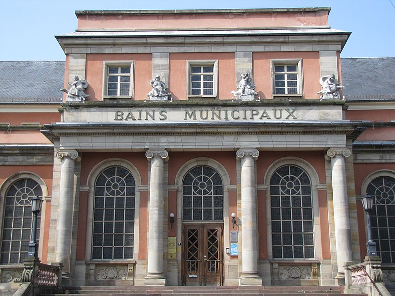 Photo du Monument Historique Etablissements de bains dits Bains municipaux situé à Mulhouse
