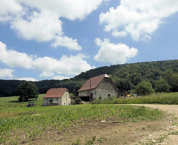 Photo du Monument Historique Ferme dite de la Vacherie situé à Oberlarg