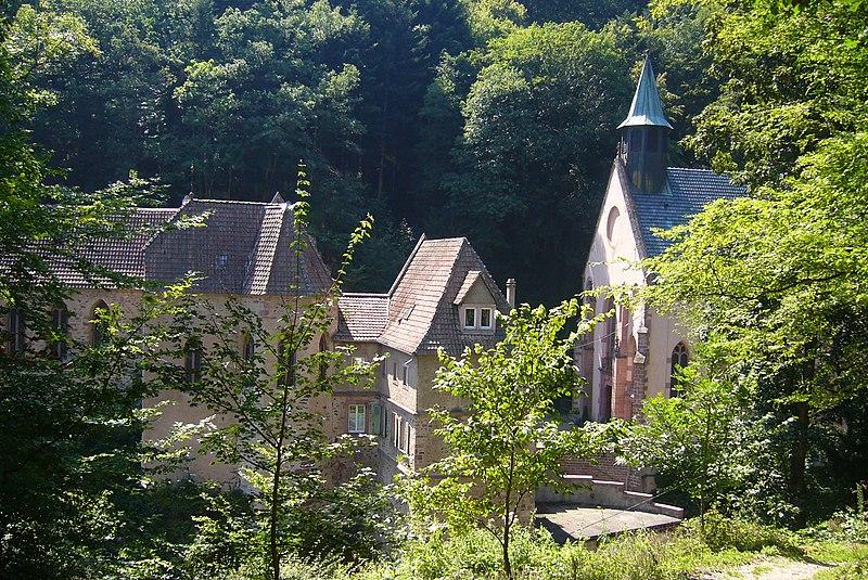 Photo du Monument Historique Sanctuaire Notre-Dame de Dusenbach situé à Ribeauvillé