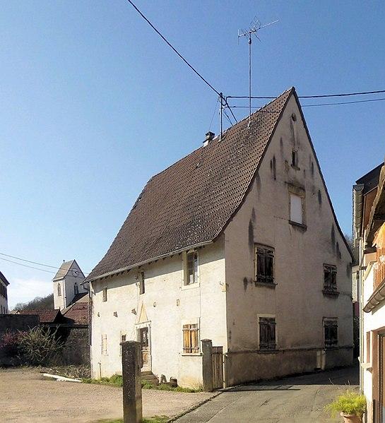 Photo du Monument Historique Maison dite maison Landwerlin situé à Flaxlanden
