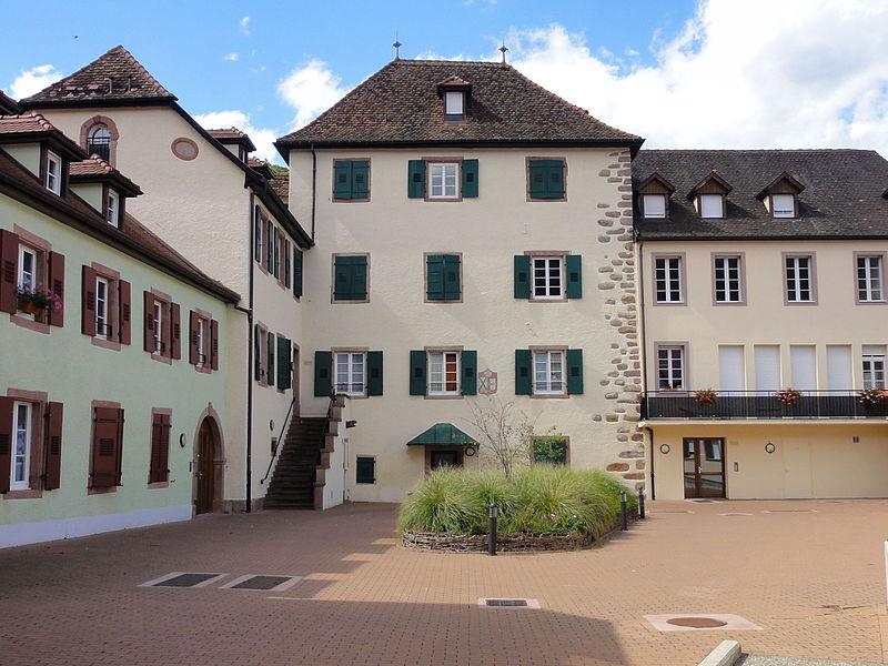 Photo du Monument Historique Château des Hattstatt-Schauenbourg situé à Soultzbach-les-Bains