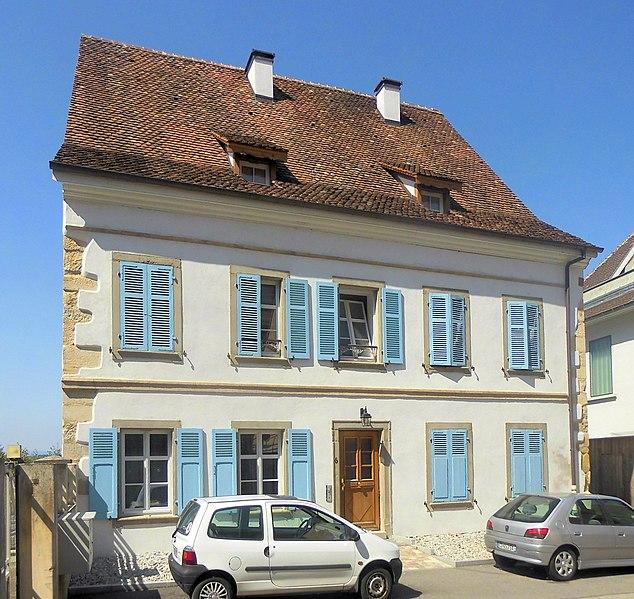Photo du Monument Historique Maison et tour sur la muraille situé à Altkirch