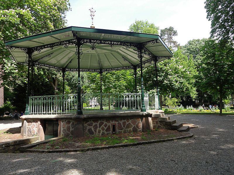 Photo du Monument Historique Parc de la Marseillaise situé à Guebwiller
