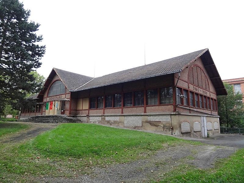 Photo du Monument Historique Réfectoire de l'usine DMC situé à Mulhouse
