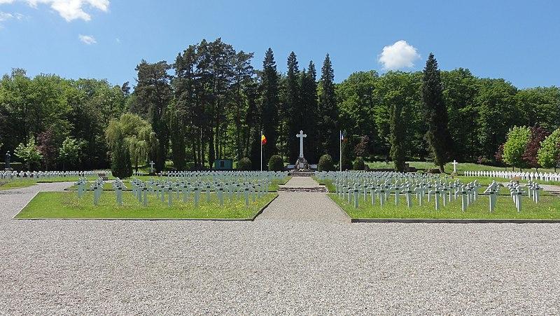 Photo du Monument Historique Cimetière roumain et son monument situé à Soultzmatt