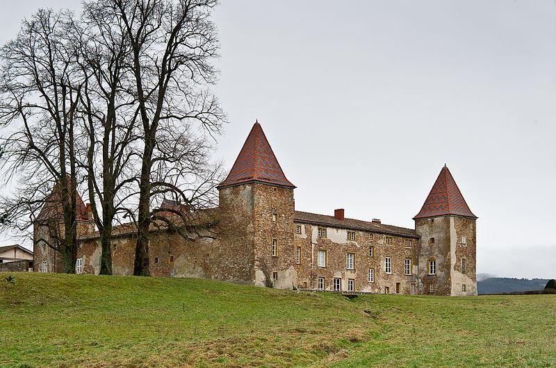 Photo du Monument Historique Domaine de Rochefort situé à Amplepuis