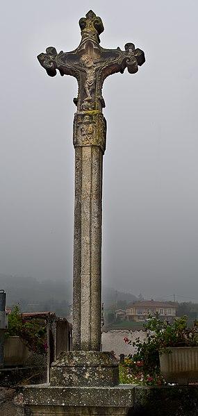 Photo du Monument Historique Cimetière situé à Bibost
