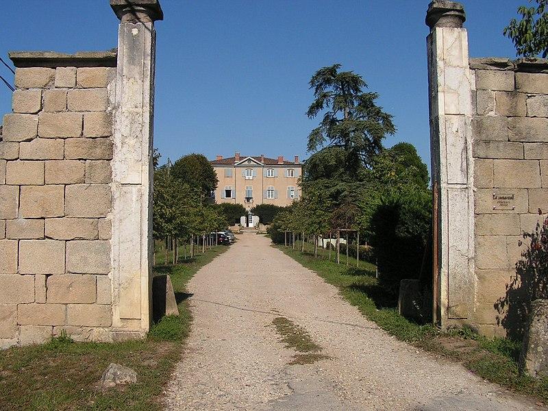 Photo du Monument Historique Maison de La Jamayère situé à Brignais