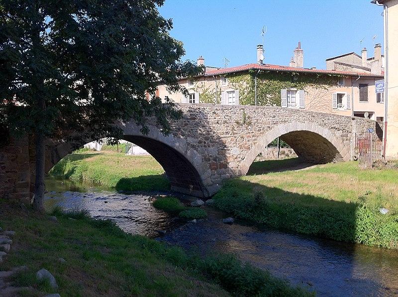 Photo du Monument Historique Pont (vieux) situé à Brignais