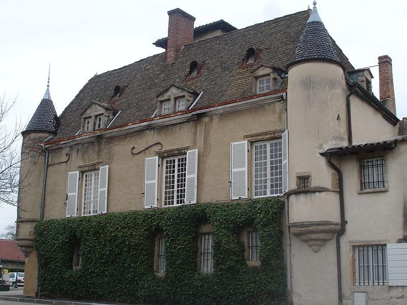 Photo du Monument Historique Château de Foudras situé à Charly