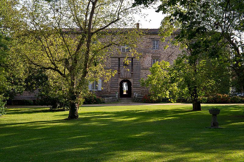 Photo du Monument Historique Château situé à Chassagny