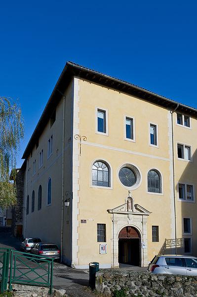 Photo du Monument Historique Couvent de la Visitation situé à Condrieu