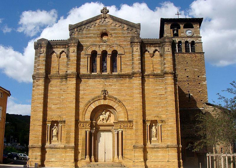 Photo du Monument Historique Eglise situé à Couzon-au-Mont-d'Or