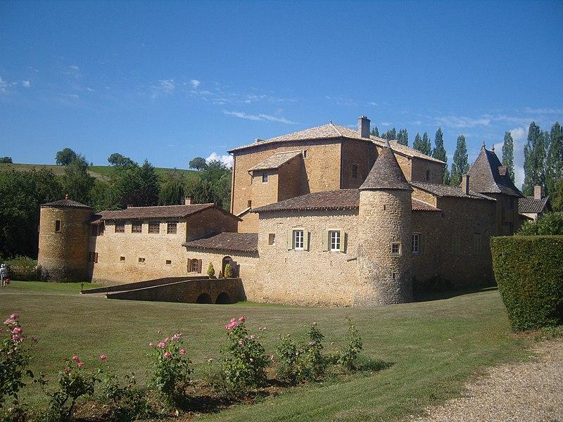 Photo du Monument Historique Château du Sou situé à Lacenas