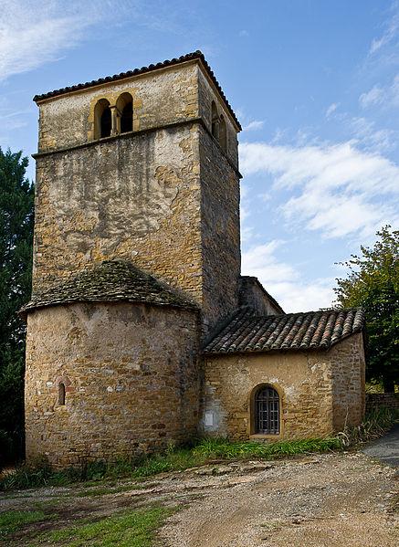 Photo du Monument Historique Eglise  du hameau Saint-Paul situé à Lacenas