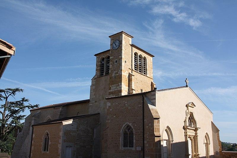 Photo du Monument Historique Eglise paroissiale Notre-Dame-de-l'Assomption situé à Liergues
