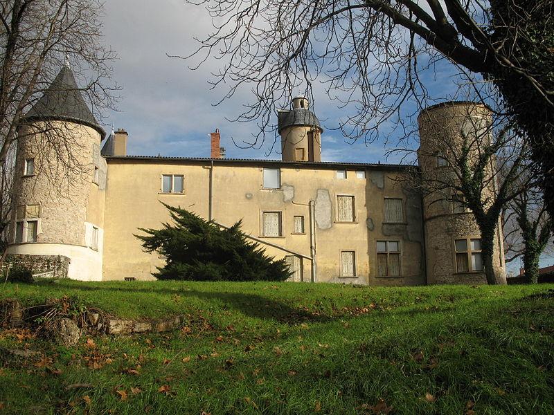 Photo du Monument Historique Château de la Motte situé à Lyon