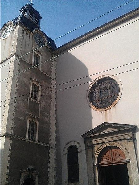 Photo du Monument Historique Eglise Saint-Denis-de-la-Croix-Rousse situé à Lyon