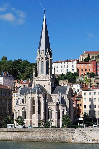 Photo du Monument Historique Eglise Saint-Georges situé à Lyon