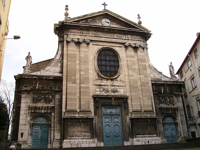 Photo du Monument Historique Eglise Saint-Just situé à Lyon