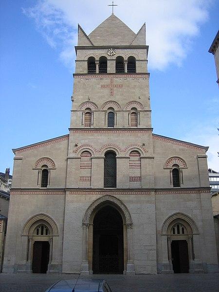 Photo du Monument Historique Eglise Saint-Martin-d'Ainay situé à Lyon