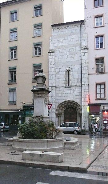 Photo du Monument Historique Eglise Saint-Pierre-des-Terreaux situé à Lyon