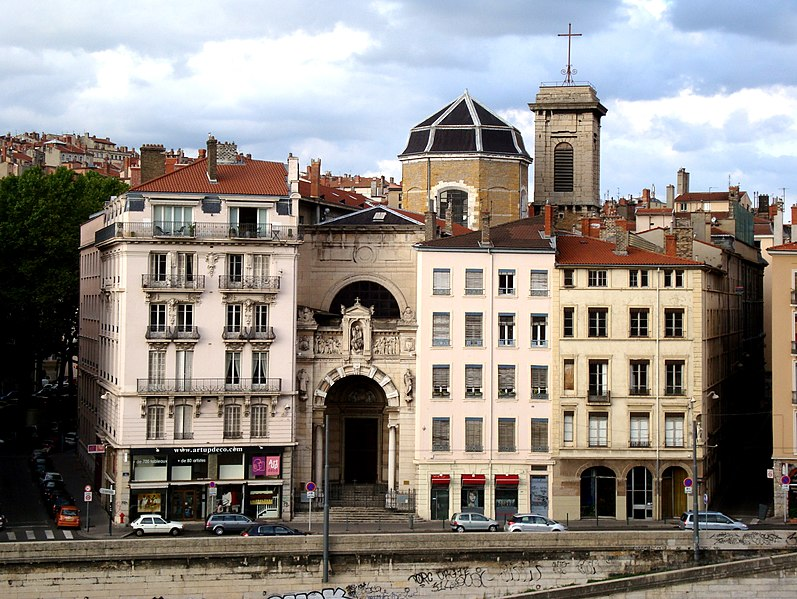 Photo du Monument Historique Eglise Saint-Vincent situé à Lyon