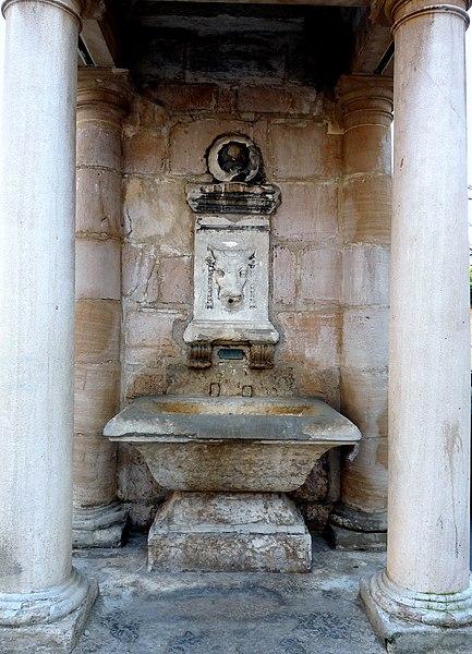 Photo du Monument Historique Fontaine du Taurobole situé à Lyon