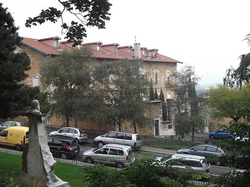 Photo du Monument Historique Hôpital militaire Villemanzy situé à Lyon