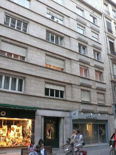 Photo du Monument Historique Immeuble situé à Lyon