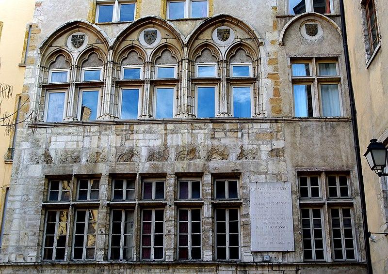 Photo du Monument Historique Immeuble dit Maison Thomassin situé à Lyon