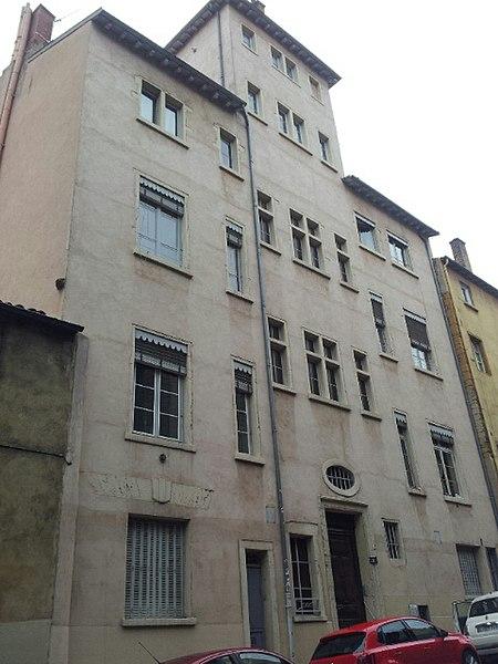 Photo du Monument Historique Maison des Gondi situé à Lyon