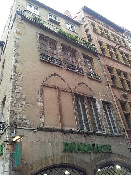 Photo du Monument Historique Maison situé à Lyon